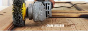Carte e tele per legno