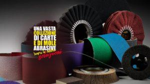 Banner Collezione Carte mole abrasive