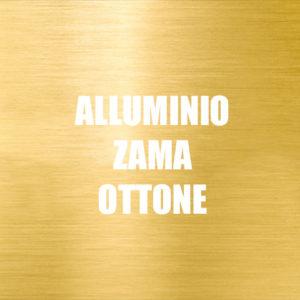 Alluminio zama ottone