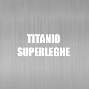 Titanio Superleghe